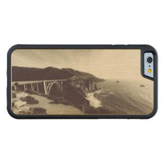 Bixby Bridge, Big Sur, California USA Carved Maple iPhone 6 Bumper Case