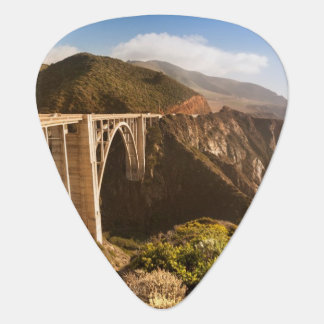 Bixby Bridge, Big Sur, California, USA Guitar Pick