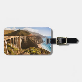 Bixby Bridge, Big Sur, California, USA Luggage Tag