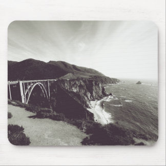 Bixby Bridge, Big Sur, California USA Mouse Pad