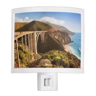 Bixby Bridge, Big Sur, California, USA Night Light