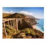Bixby Bridge, Big Sur, California, USA Post Cards