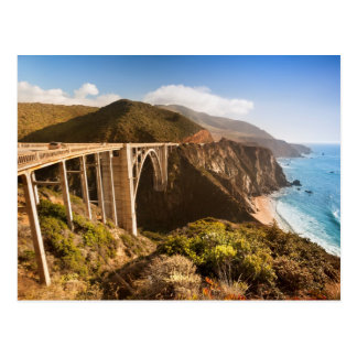 Bixby Bridge, Big Sur, California, USA Postcard