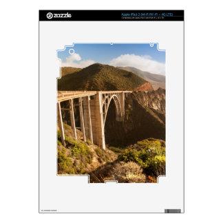 Bixby Bridge, Big Sur, California, USA Skins For iPad 3