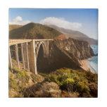 Bixby Bridge, Big Sur, California, USA Tile