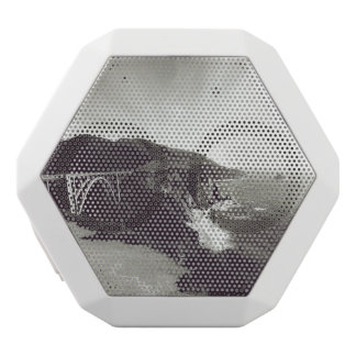 Bixby Bridge, Big Sur, California USA White Bluetooth Speaker