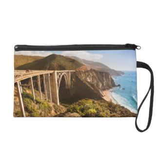 Bixby Bridge, Big Sur, California, USA Wristlet Purse