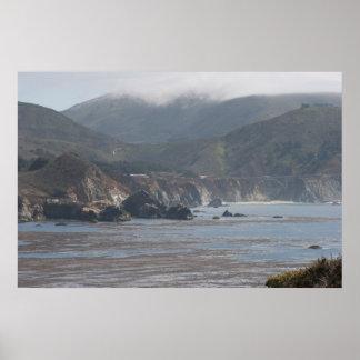 Bixby Bridge-California Highway #1 Poster