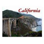 Bixby Bridge, California Postcard