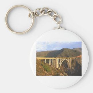 Bixby Bridge Keychain
