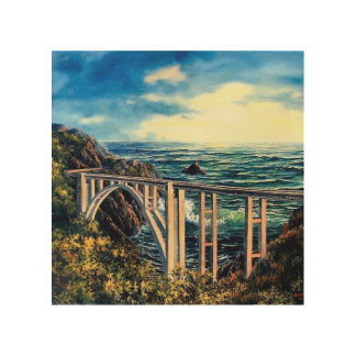 Bixby Bridge Wood Wall Decor