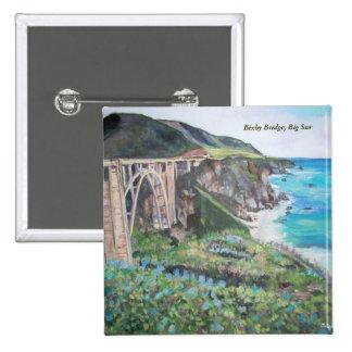 Bixby Creek Bridge - Button