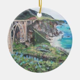 Bixby Creek Bridge -Ornament Ceramic Ornament