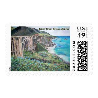 Bixby Creek Bridge - Postage