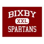 Bixby - Spartans - Middle School - Bixby Oklahoma Post Card