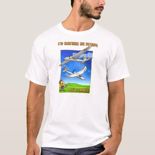 Bixler I'd Rather Be Flying T-Shirt