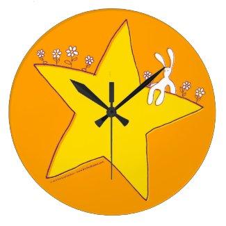 BixTheRabbit wall's clock