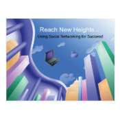 Biz Blue Network Postcard
