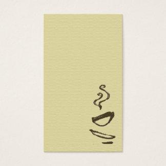 Biz Card - Coffee
