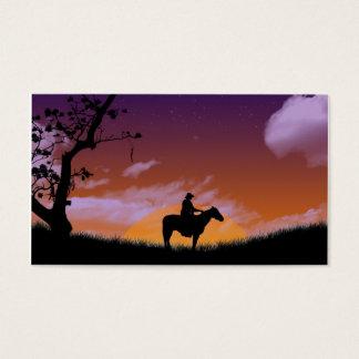 Biz Card - Western Sunset