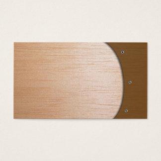 Biz Card - Wooden
