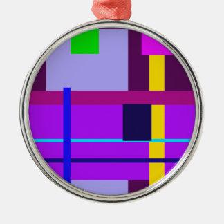 Bizancio violeta mínimo ornamento para reyes magos