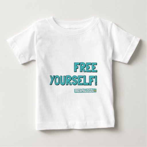 "Bizapalooza ""Free Yourself!"" T-shirt Baby Polera"