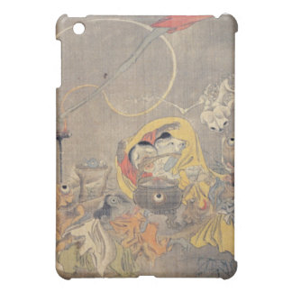 Bizarre Ancient Japanese Painting of Demons iPad Mini Cover