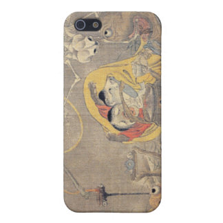 Bizarre Ancient Japanese Painting of Demons Case For iPhone 5