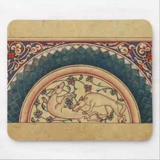 Bizarre and Beautiful Medieval Manuscript Mouse Pad
