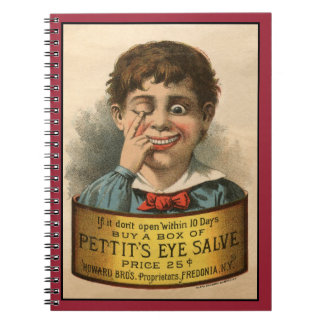 Bizarre and Funny Vintage Ad Notebook