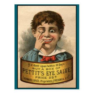 Bizarre and Funny Vintage Ad Postcard