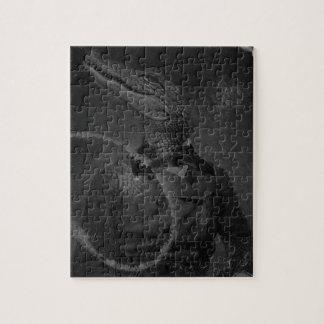 Bizarre Caiman Vintage Collage Puzzles