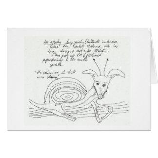 Bizarre card, it's the Spooky Dog Snail Card