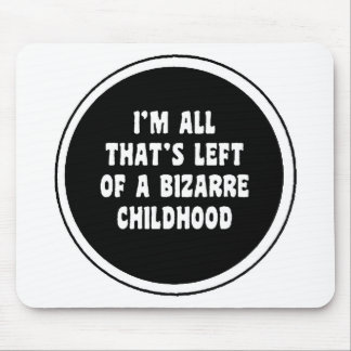 bizarre childhood mouse pad