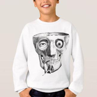 Bizarre Skull Muscles Face Sweatshirt