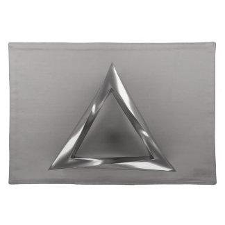 Bizarre Triangle Cloth Place Mat