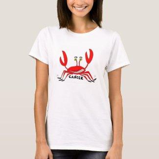Bizarro Zodiac Cancer Women's T-Shirt Color