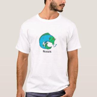 Bizarro Zodiac Pisces Men's T-Shirt Color