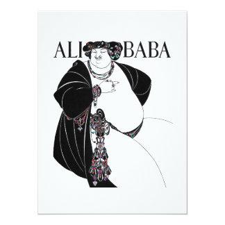 "Bizcocho borracho de Nouveu Ali de Aurbrey Invitación 5.5"" X 7.5"""