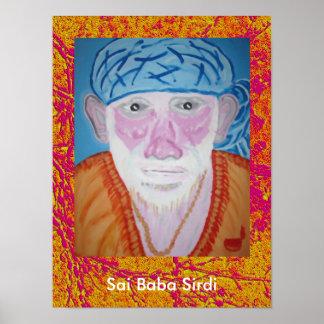 Bizcocho borracho de SaiBaba Sai Posters
