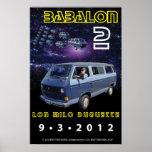 "Bizcocho borracho Lon II 12"""" poster x18"