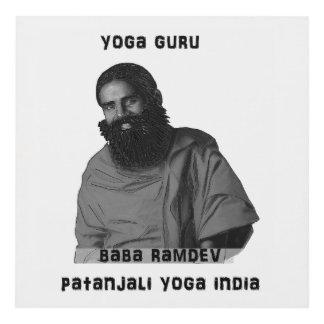 Bizcocho borracho Ramdev de la India de la yoga de Cuadro