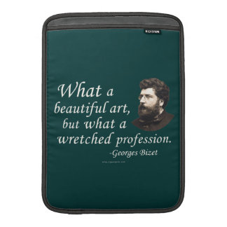 Bizet on the Profession MacBook Air Sleeves