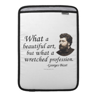 Bizet on the Profession MacBook Sleeve