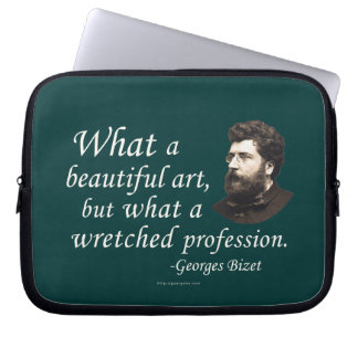 Bizet on the Profession Laptop Computer Sleeve