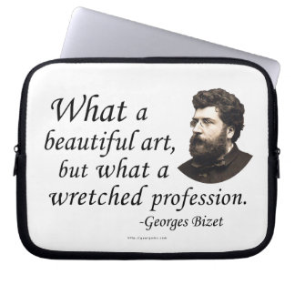 Bizet on the Profession Laptop Sleeves