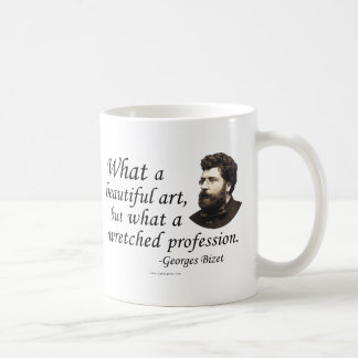 Bizet on the Profession Coffee Mugs