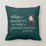 Bizet on the Profession Throw Pillow