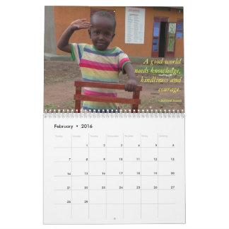 BiZoHa 2016 Calendar (11 x 8.5)